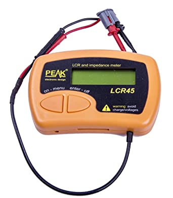 Peak LCR and IMPEDANCE Meter LCR45
