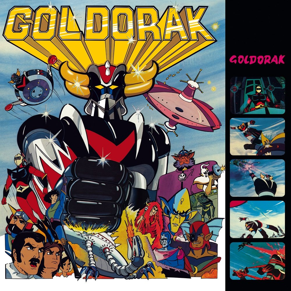 Vinilo : Lionel Leroy - Goldorak (original Soundtrack) (France - Import)