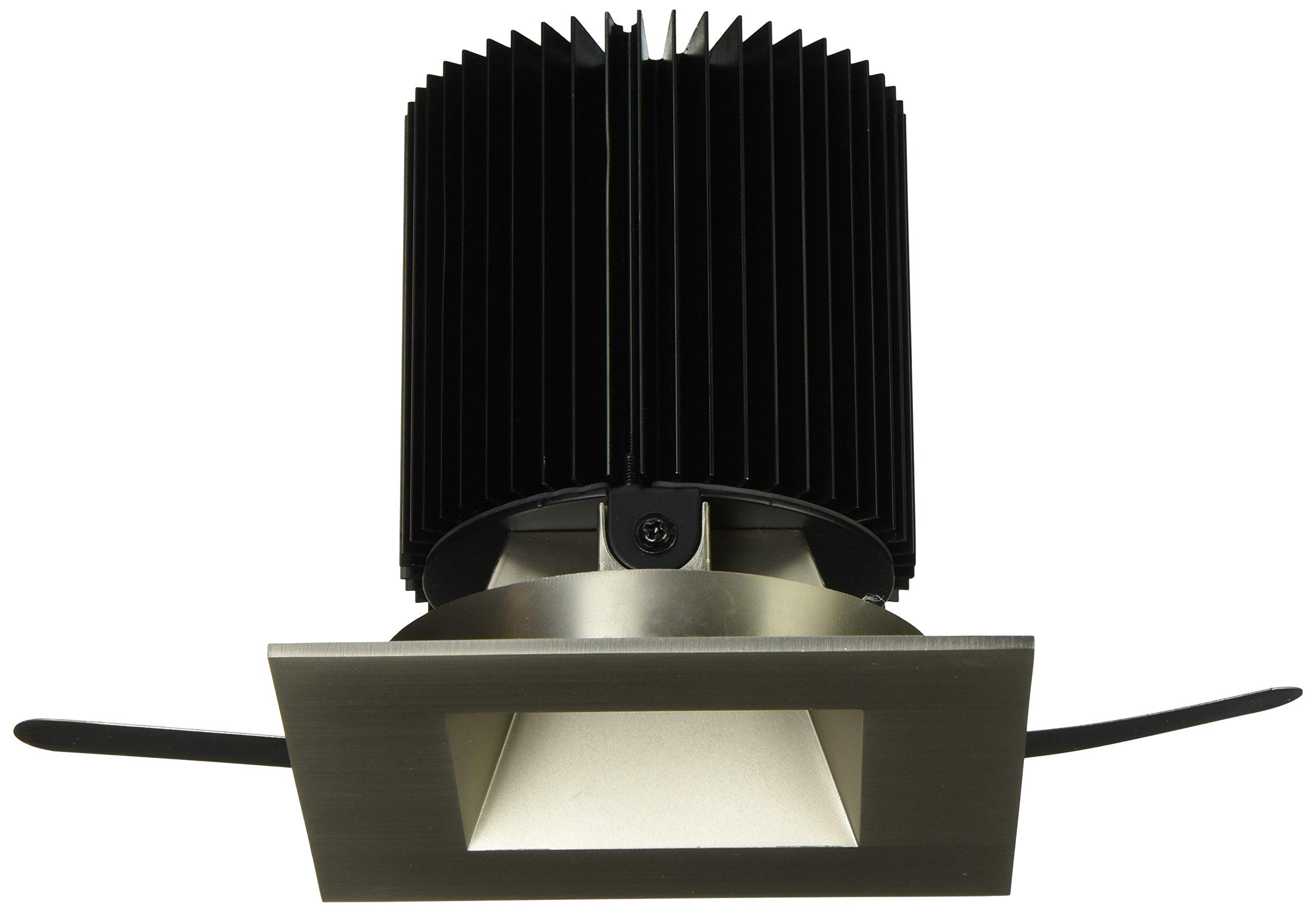 WAC Lighting HR-3LED-T718F-27BN Tesla - LED 3-Inch Open Square Trim 50-Degree Angle, 2700K