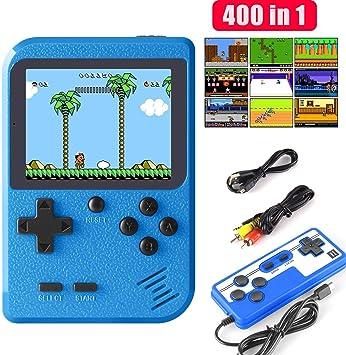 ETPARK Consola de Juegos Portátil, 400 Juegos Retro Consola con ...