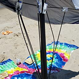 Amazon Com Sport Brella Ultra Spf 50 Angled Shade Canopy Umbrella For Optimum Sight Lines At Sports Events 8 Foot Blue Sports Outdoors