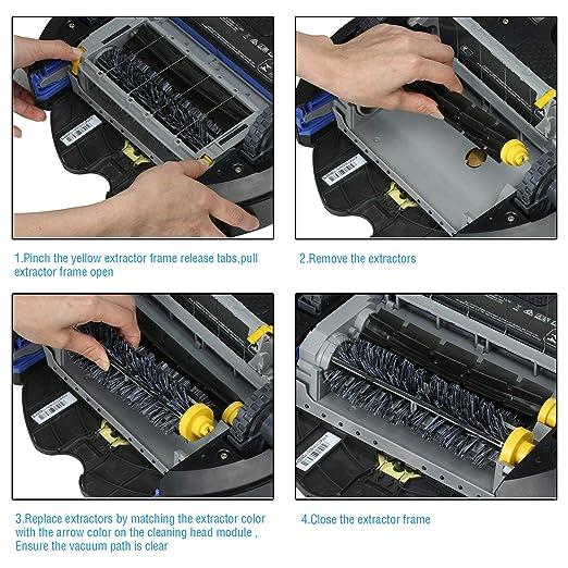 ARyee - Kit de Repuesto de Cepillo de Filtro Compatible con ...