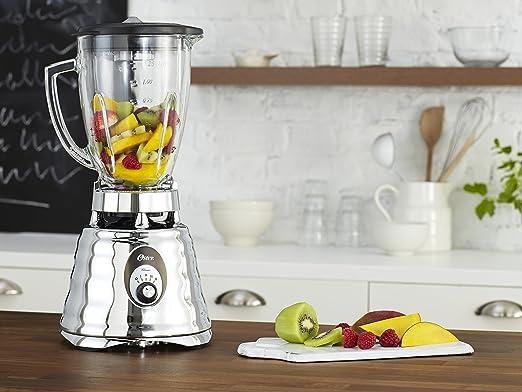 Oster - batidora de vaso Clásica 600W y jarra de vidrio redonda - 0004655ESP + BLSTAJ-G00: Amazon.es: Hogar