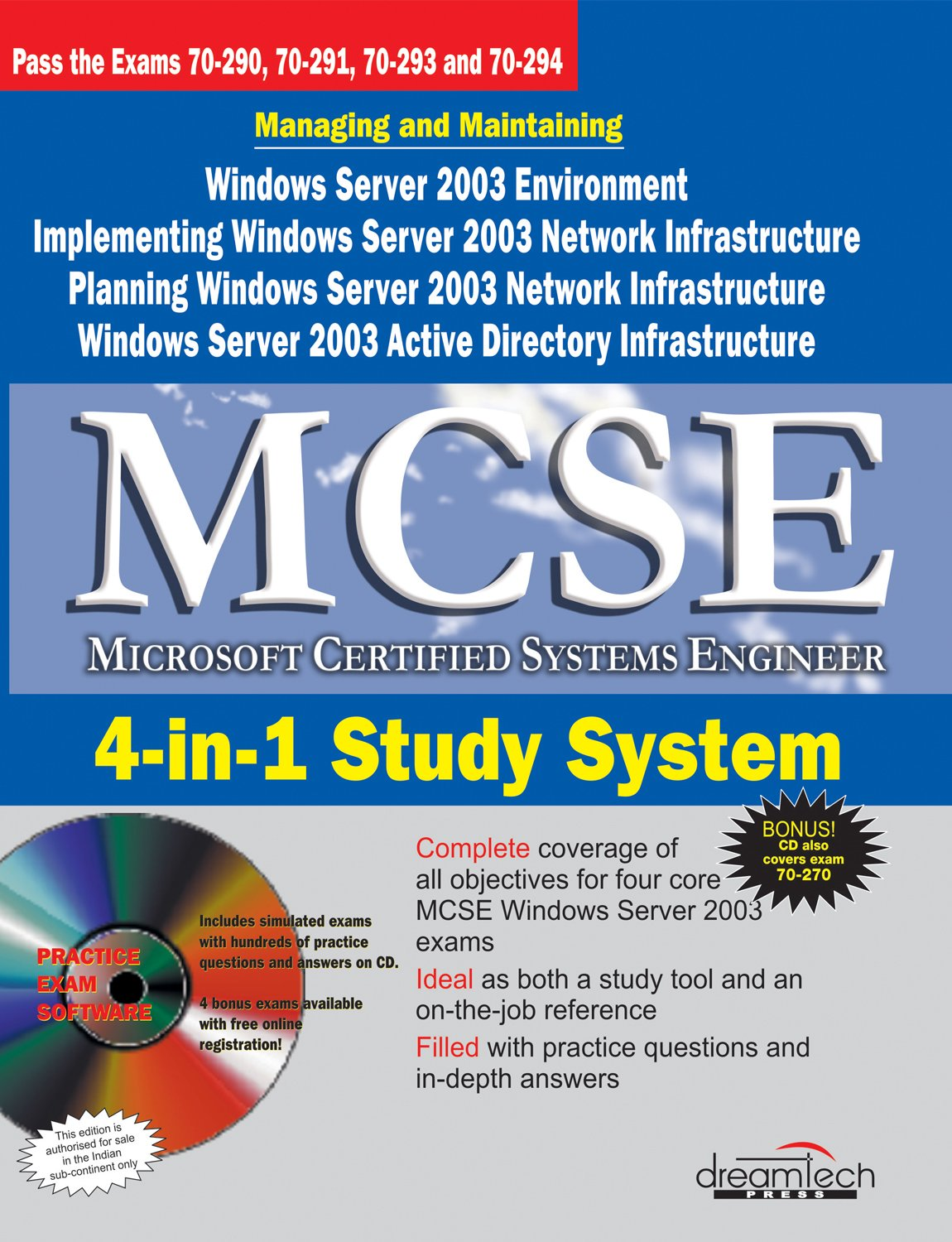 Mcse Microsoft Certified Systems Engineer 4 In 1 Study System