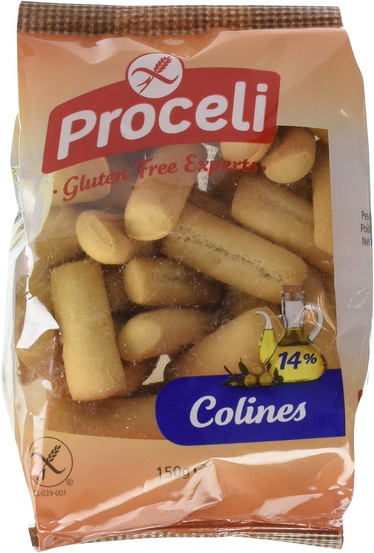 Colines sin gluten PROCELI (8 paquetes)