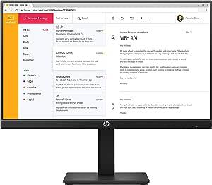 """HP P24h G4 23.8"""" Full HD Anti-Glare Business IPS Monitor"""