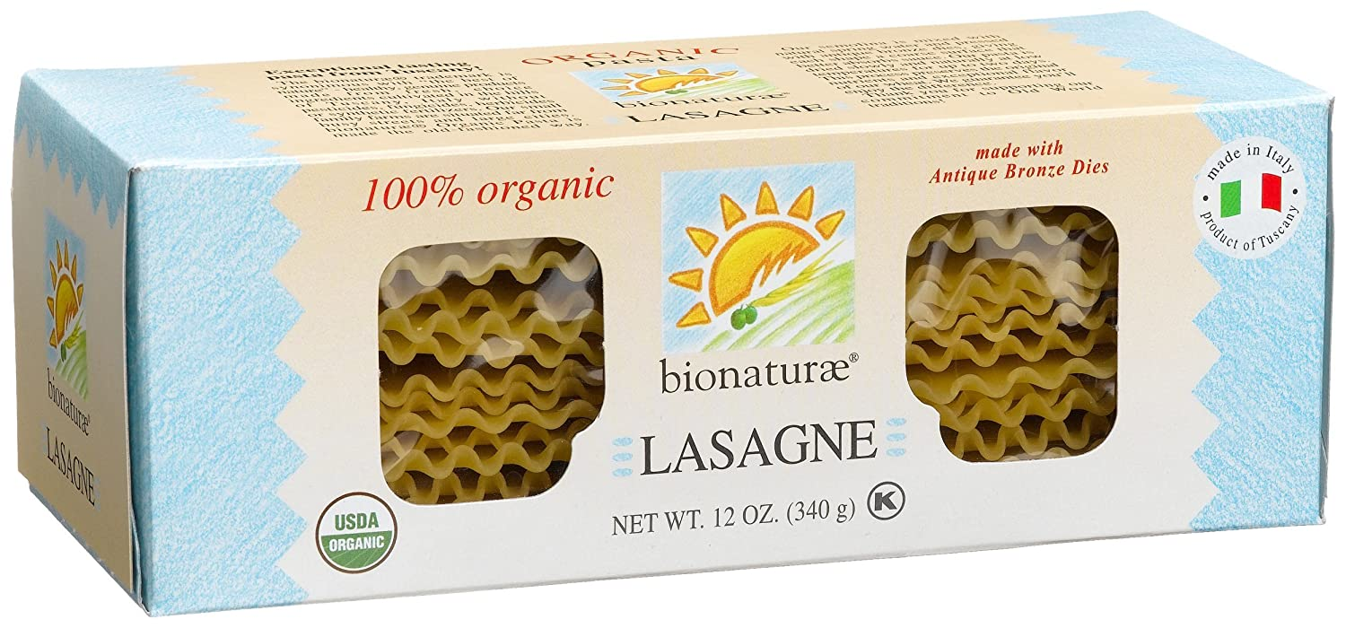 bionaturae Orgánica lasaña: Amazon.com: Grocery & Gourmet Food