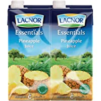 Lacnor Essentials Pineapple Juice - Pack of 4 Pieces (4 x 1 Liter)