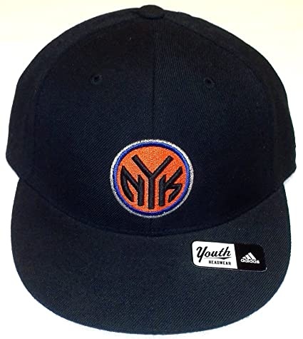 e002ee71c3a62 Image Unavailable. Image not available for. Color  New York Knicks Fitted  Flat Bill Adidas Hat Size 6 5 8 ...