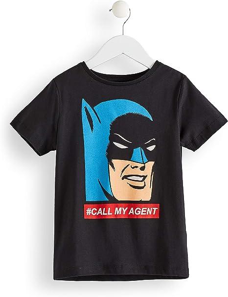 RED WAGON T-Shirt Batman en Coton Gar/çon