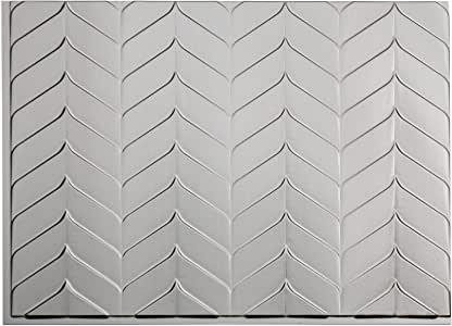4-Inch 3dRose ct/_7638/_1 Wavy Abstract by Angelandspot-Ceramic Tile
