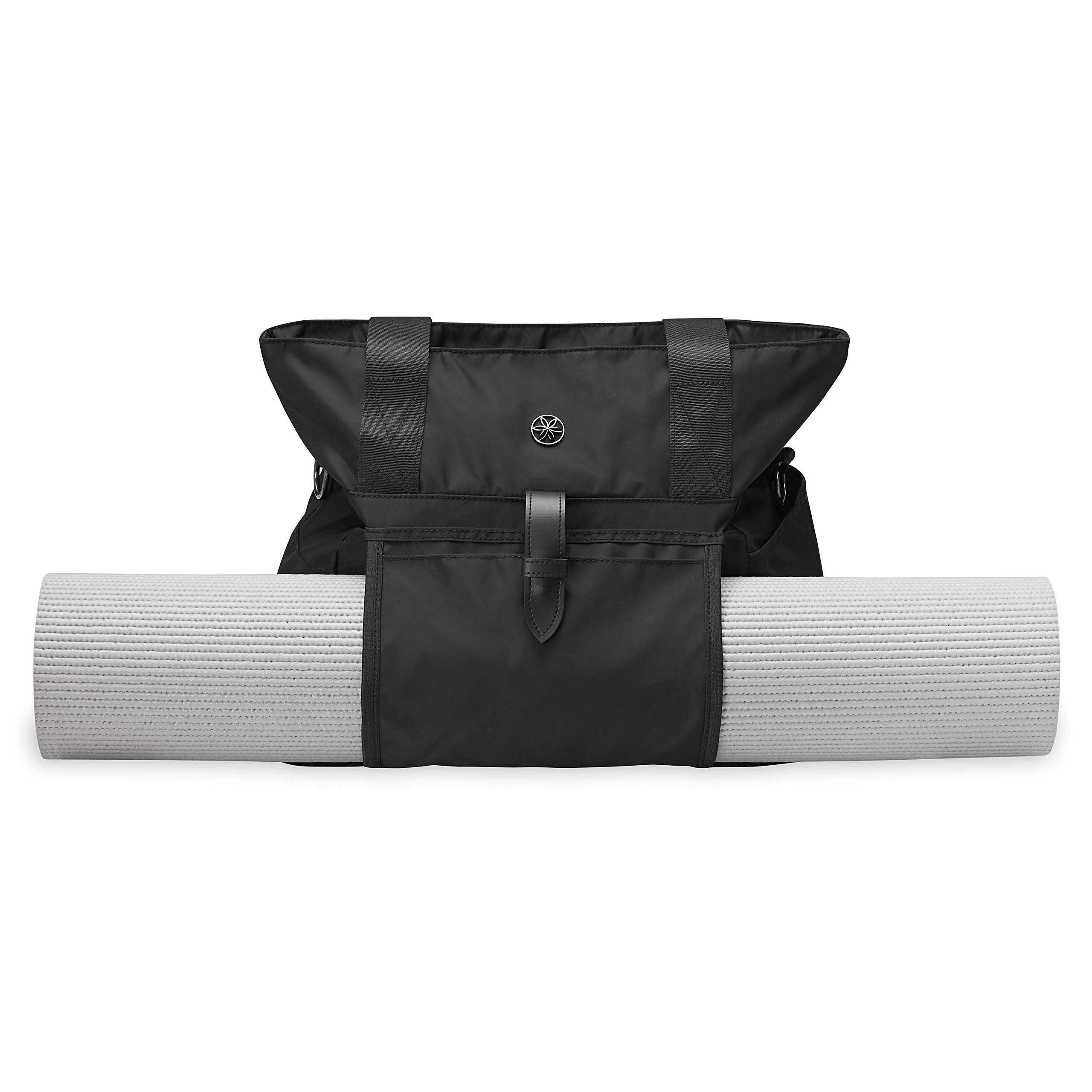 Gaiam Everyday Yoga Mat Bag Tote With Yoga Mat Carrier