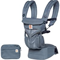 Ergobaby Omni 360 Cool Air Mesh Baby Carrier, Oxford Blue