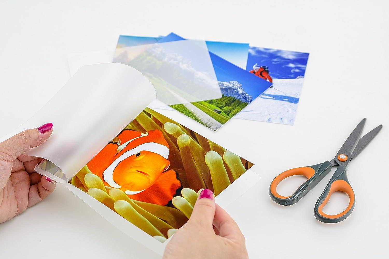 Pochettes brillantes Peach A5 125 mic PP525-03 100 pi/èces