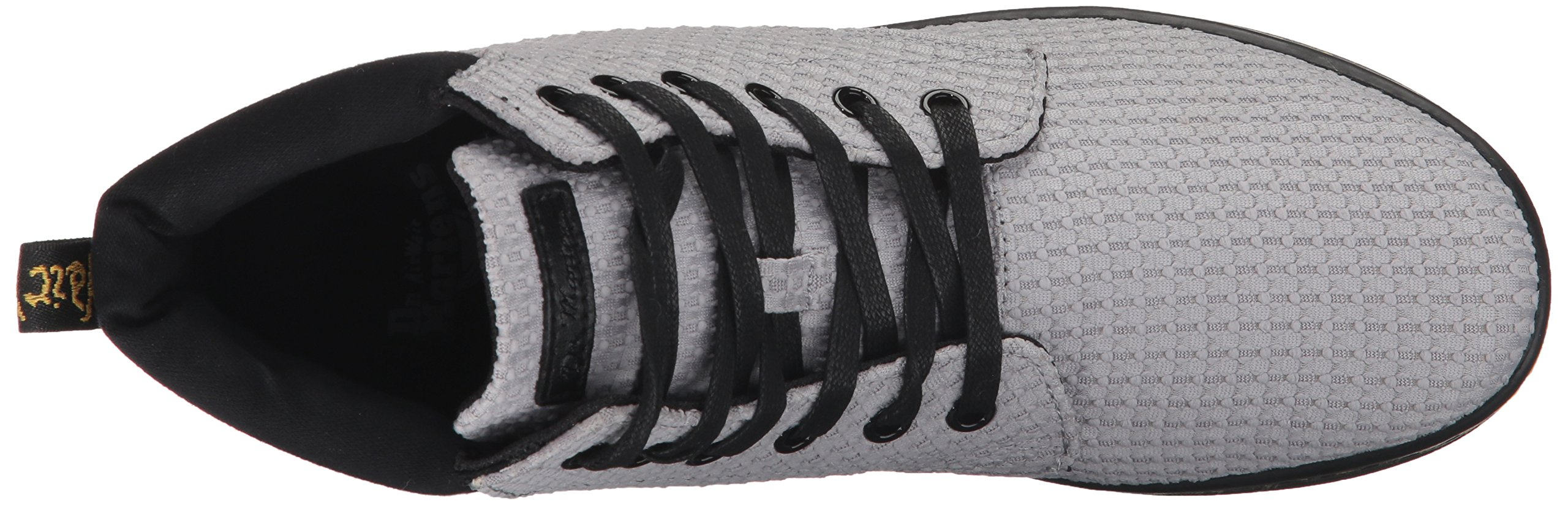 Dr. Martens Women's Maelly WC Fashion Boot, Mid Grey+Black Waffle Cotton+Fine Canvas, 8 Medium UK (10 US) by Dr. Martens (Image #8)