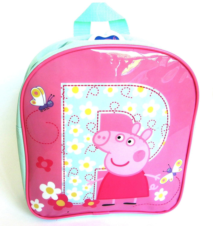 Just Character Peppa Pig Girls Pink Junior Backapck Nursery School Bag Brand NEW