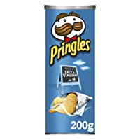 Pringles Salt and Vinegar Potato Crisps, 200 g