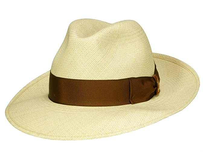 Borsalino - Cappello Panama - Donna  Amazon.it  Abbigliamento edcb5f9bc2da