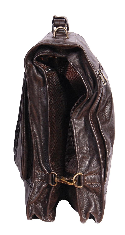 Housse /à v/êtements  Femme Homme Mixte adulte Marron marron grand House Of Leather