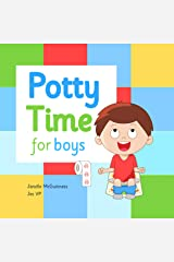 Potty Time for Boys: Potty Training for Toddler Boys Kindle Edition