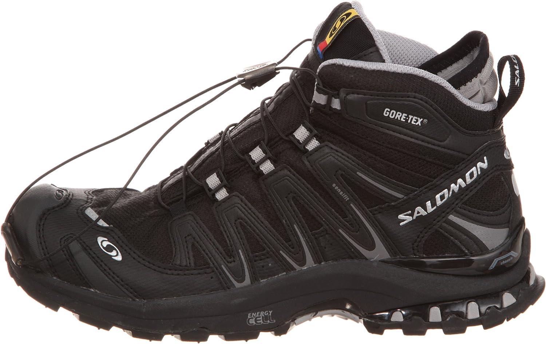 cfab76f7d52a Salomon XA Pro 3D Mid GTX® W Ultra Running Shoe Womens Black Schwarz (Black