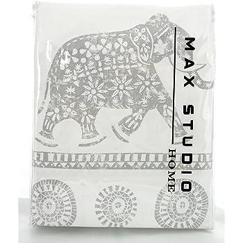 Amazon Com Max Studio Home Cotton Shower Curtain Moroccan