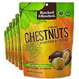 Blanchard & Blanchard Whole Chestnuts Roasted & Peeled (Organic) 5.29oz (6 Pack)