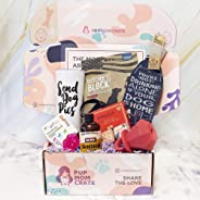 Pup Mom Crate - A Monthly Subscription Box For Dog Moms with small boy dogs