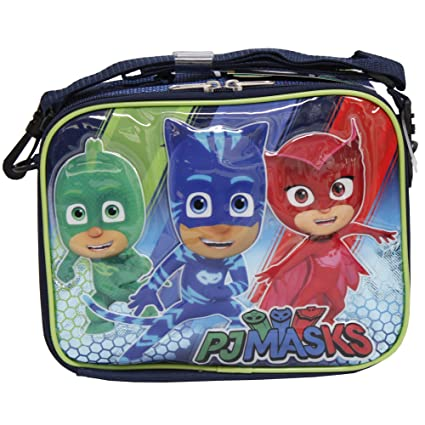 PJ MASKS Gekko Catboy Owlette Soft Lunch kit bag box