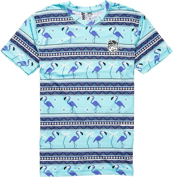 Neff Youth Boys Miami Rashguard Short-Sleeve T-Shirt//Tee