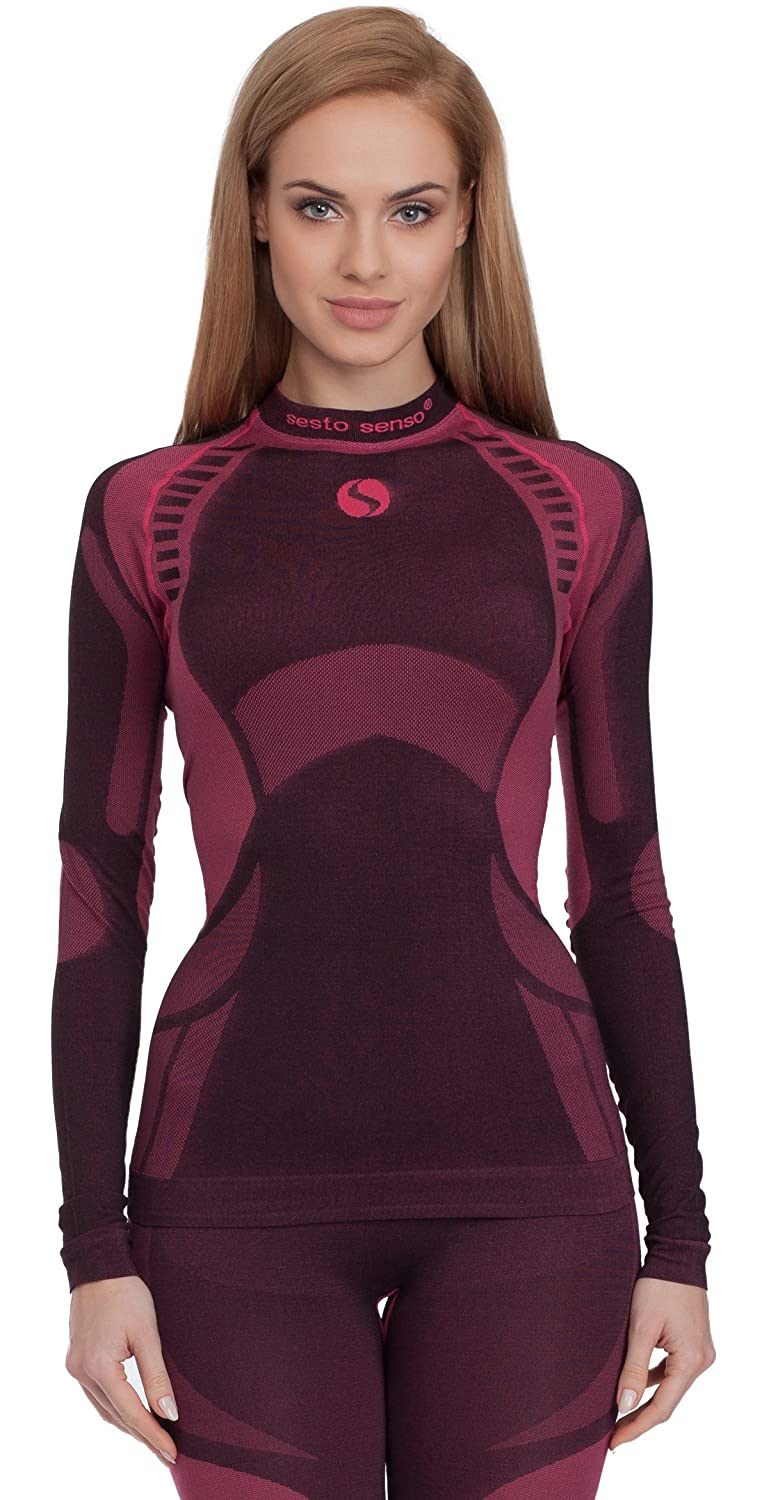 Sesto Senso Women's Functional Underwear Long Sleeve Thermo Active