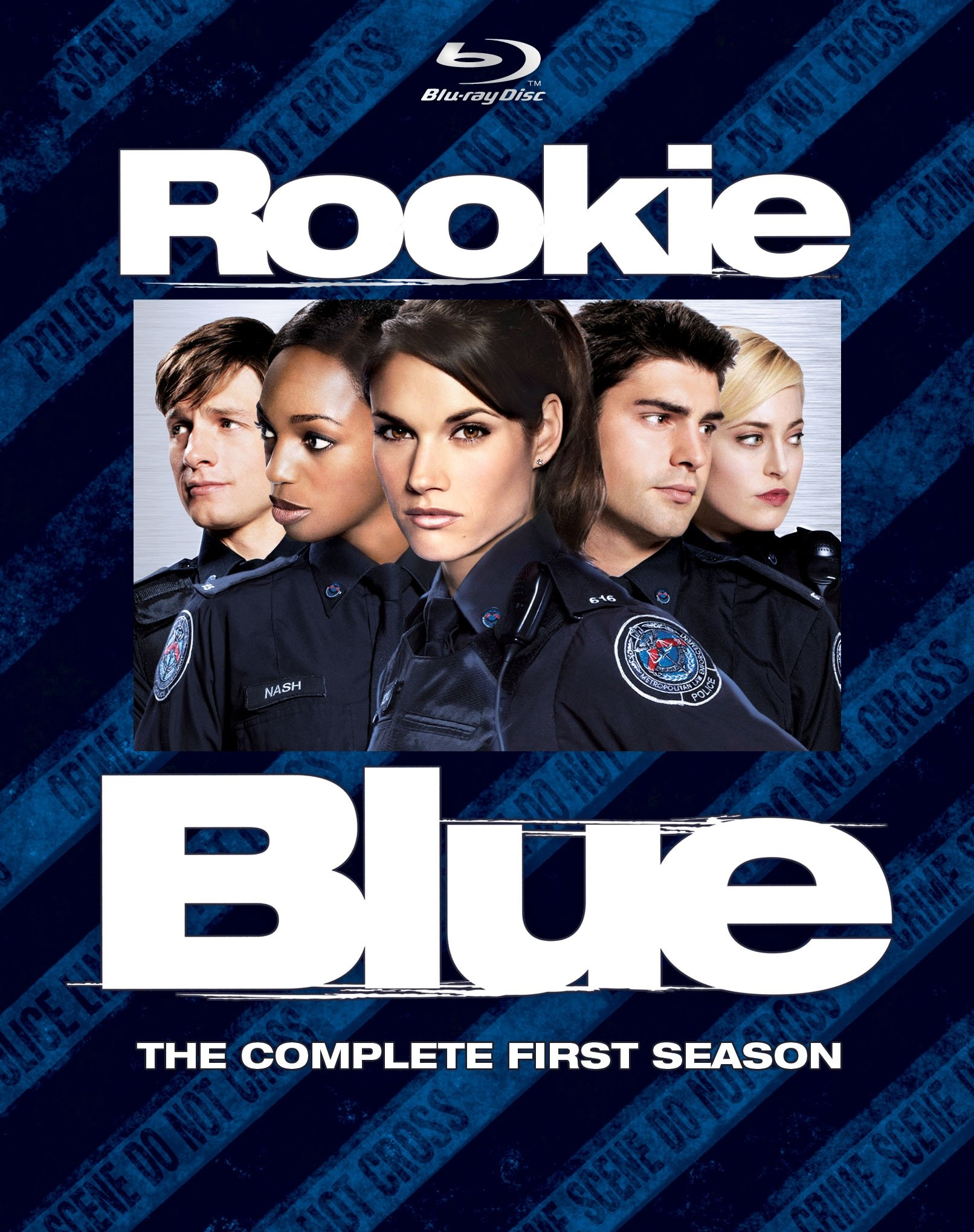 Blu-ray : Rookie Blue: The Complete First Season (Boxed Set, AC-3, Digital Theater System, 4PC)