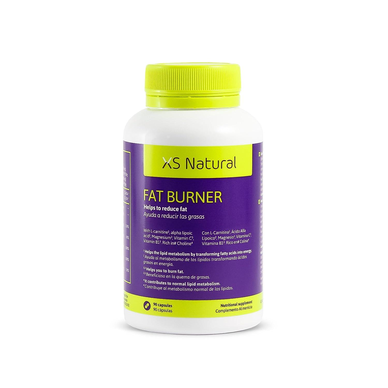 5 XS Natural Fat Burner: Cápsulas quemagrasas que ayudan a perder peso: Amazon.es: Salud y cuidado personal