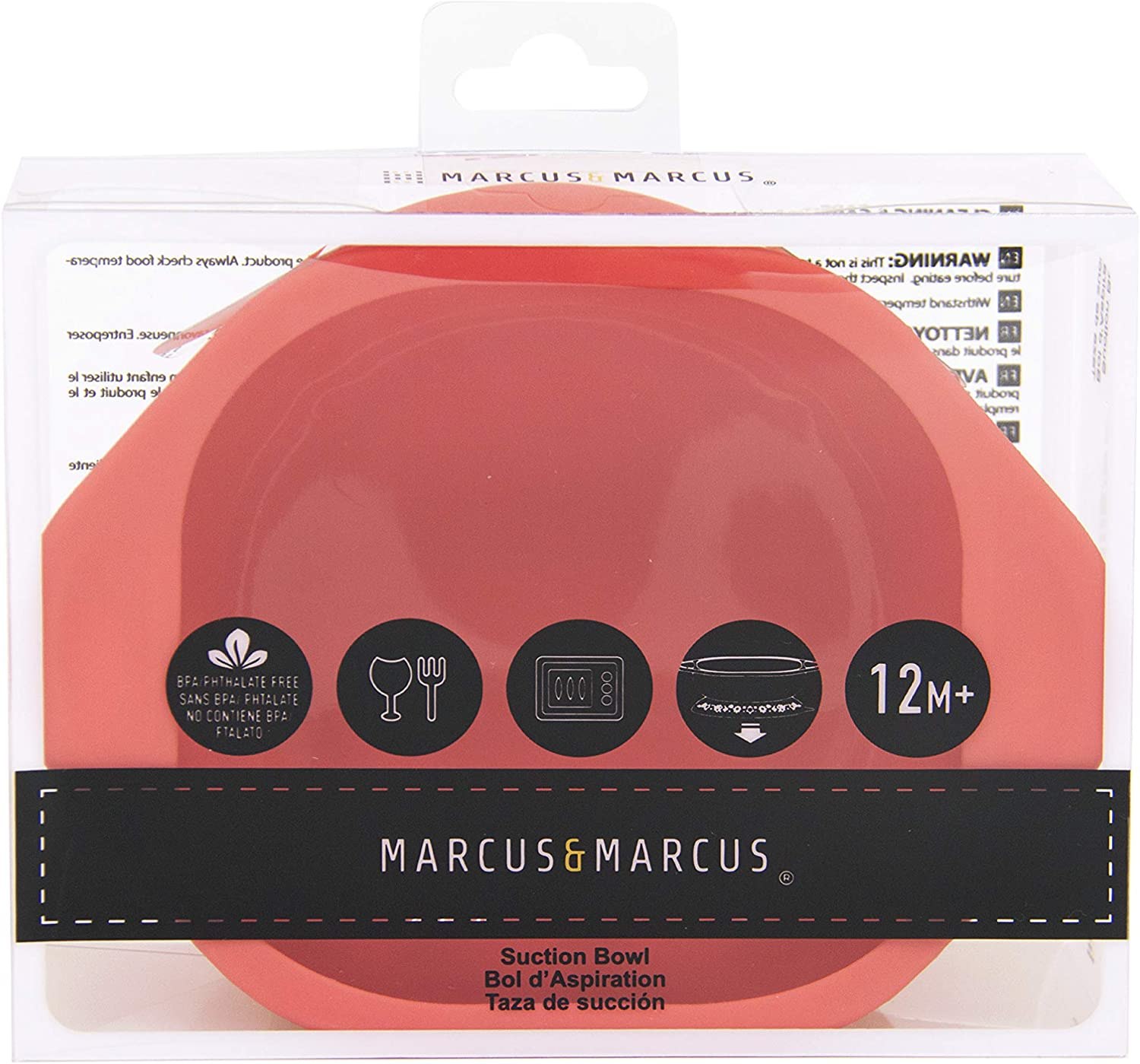 Marcus /& Marcus Marcus the Lion Silicone Suction Bowl