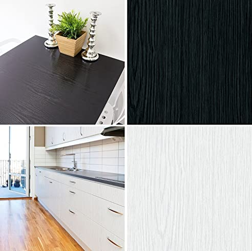 Selbstklebende Folie Tapete Klebefolie Für Möbel Küche Tür & Deko