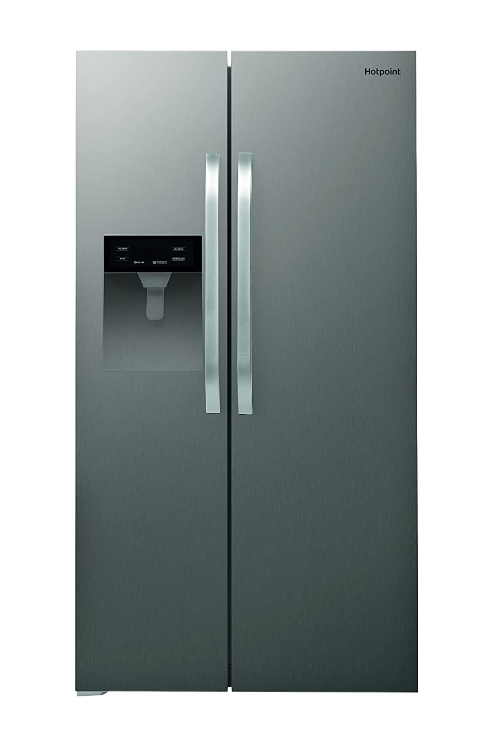 Hotpoint SXBHE924WD Freestanding A+ Rated American Fridge Freezer in Stainless Steel Indesit Group