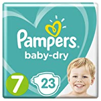 Pampers Baby Dry Gr.7 Extra Large 15+kg Sparpack