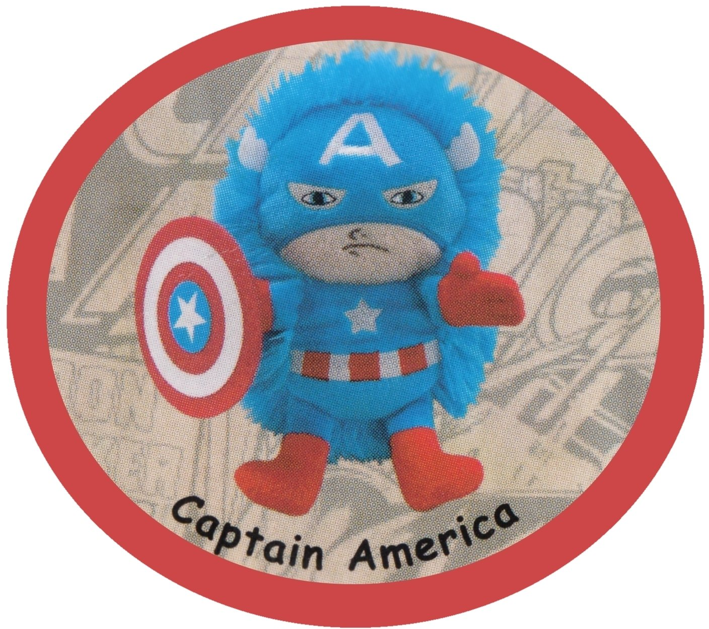 Marvel Captain America Mini Hideaway Pets Pillow Plush