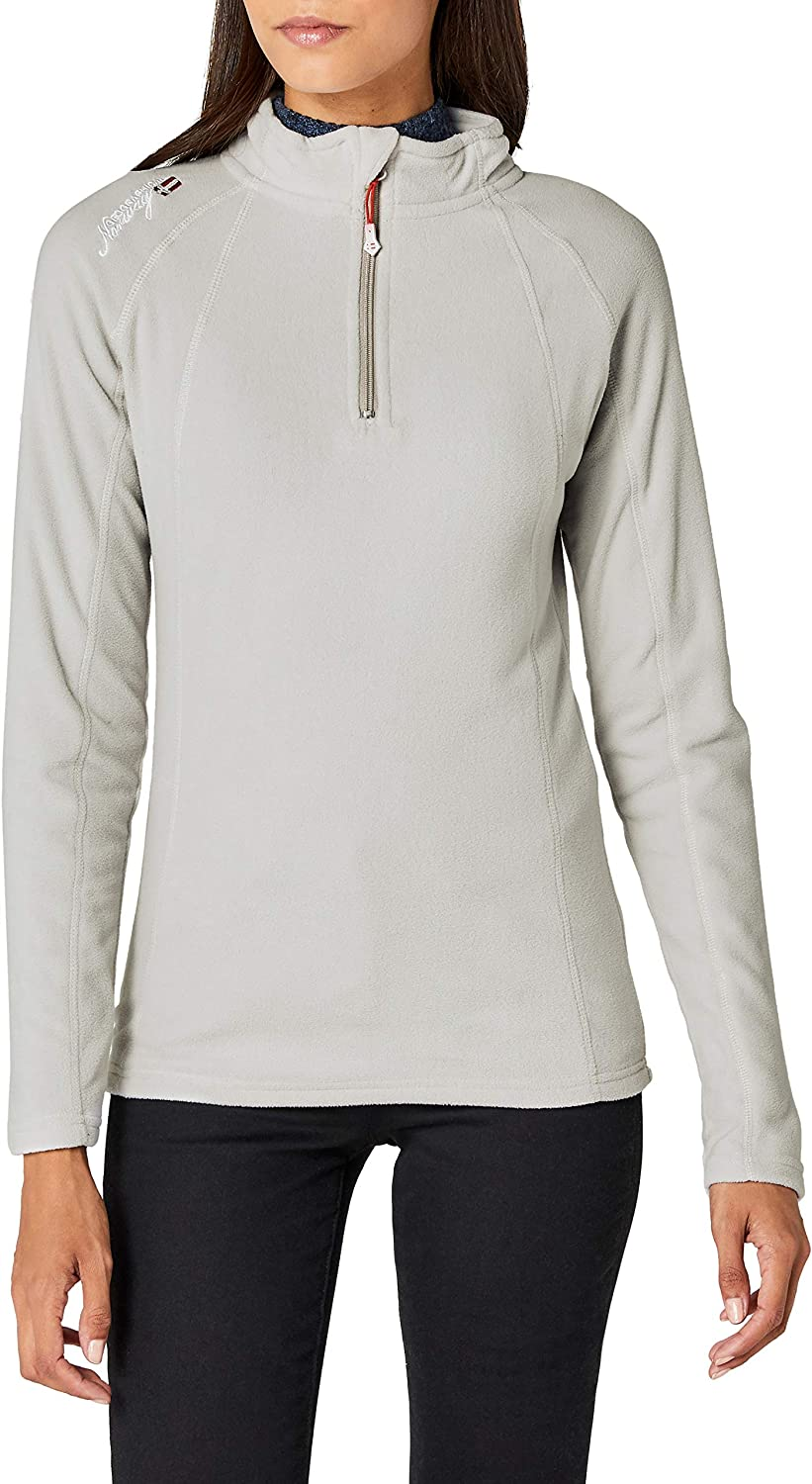 TALLA XXL. Geographical Norway Talmud Lady Half Zip Chaleco para Mujer