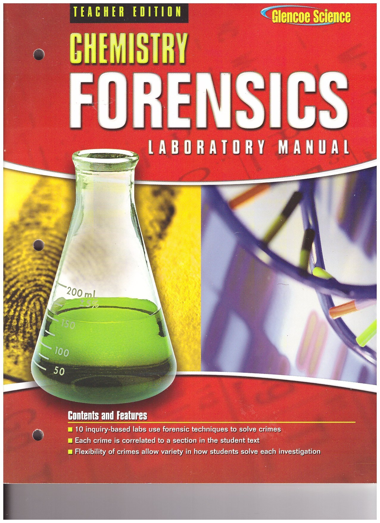 Glencoe Chemistry Forensics, Laboratory Manual Teacher Edition: Glencoe:  9780078690921: Amazon.com: Books