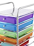 Whitmor 10 Drawer - Rolling Craft Organizer Cart