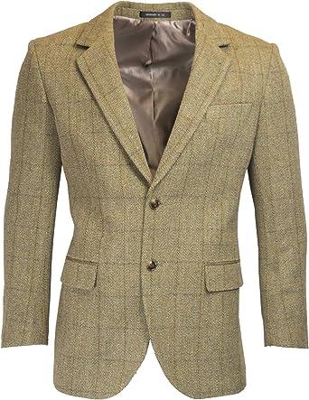 Walker & Hawkes Blazer classique pour homme Harris Tweed