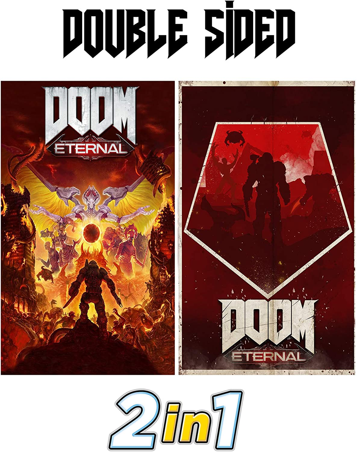Doom Eternal Exclusive Poster from Collectors Edition - Ps4 - Xbox ...