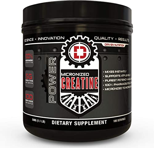 Driven Nutrition-Micronized Creatine 500gm