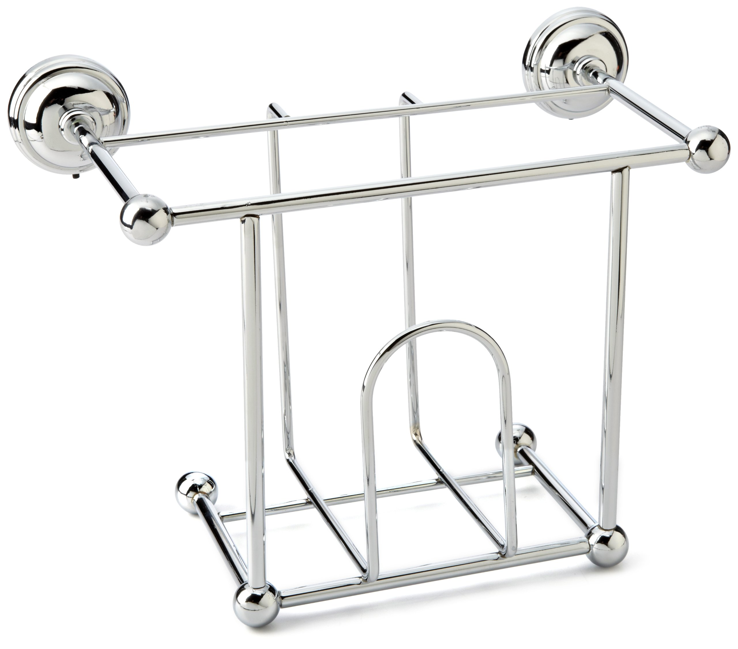 Taymor Chrome Wall Mount Magazine Rack by Taymor Industries
