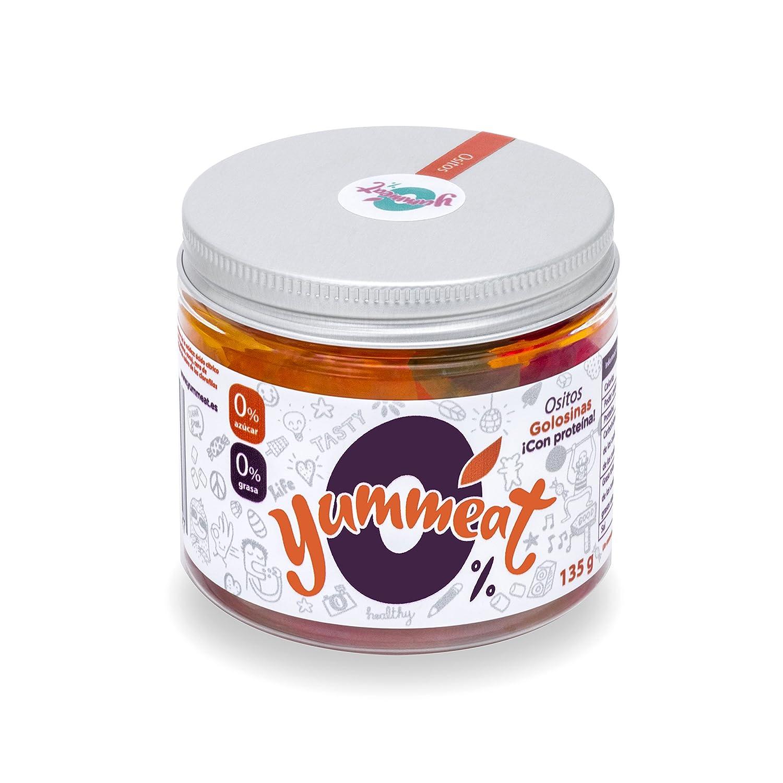 Tarro ositos Yummeat 0% azúcar 0% grasa: Amazon.es: Alimentación y bebidas
