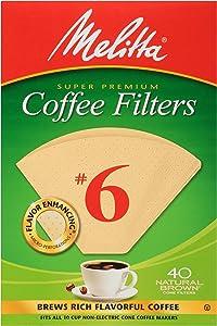 Melitta #6 Cone Coffee Filters