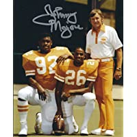 $39 » Autographed Johnny Majors 8x10 University of Tennessee Photo