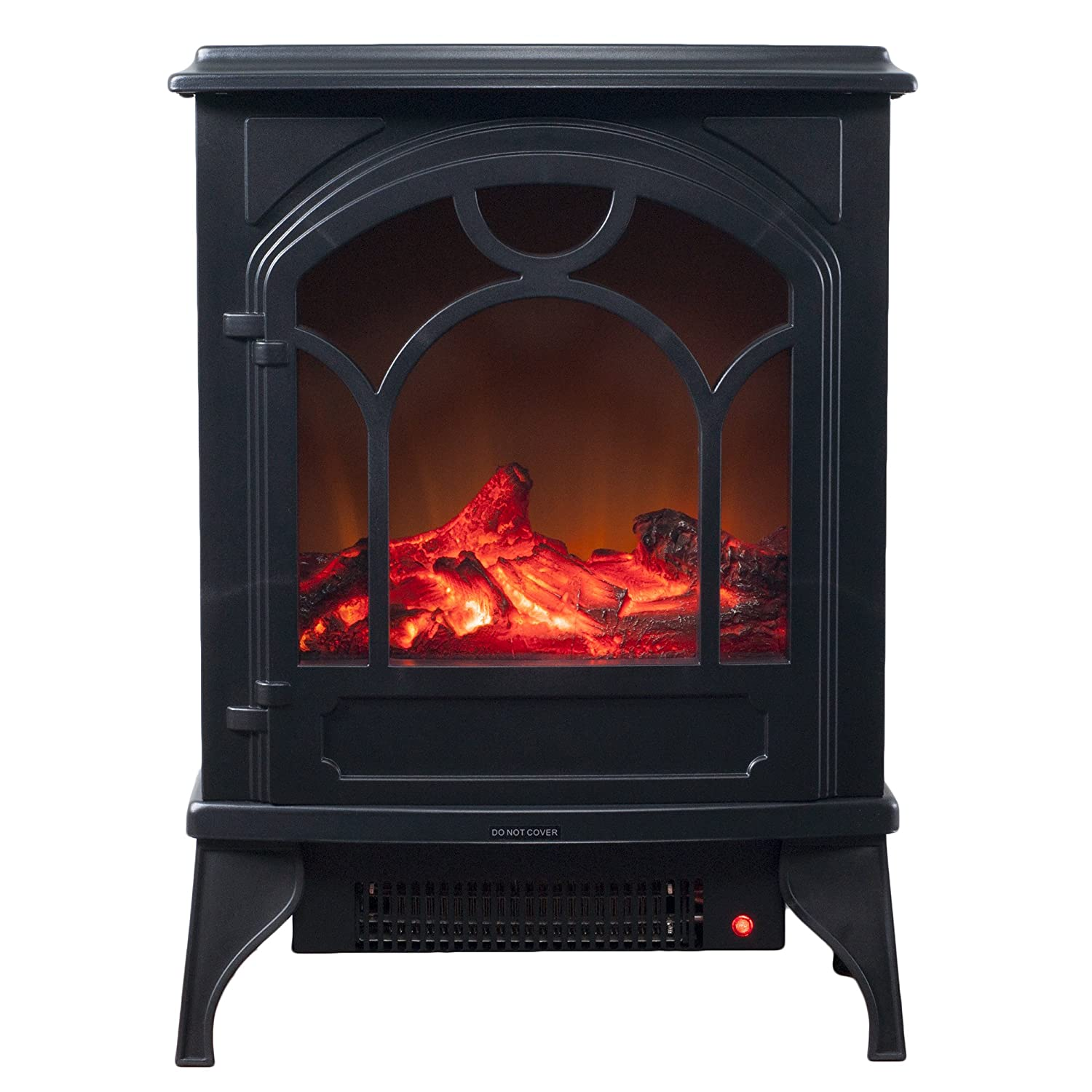 Amazon Com Electric Fireplace Indoor Freestanding Space Heater With