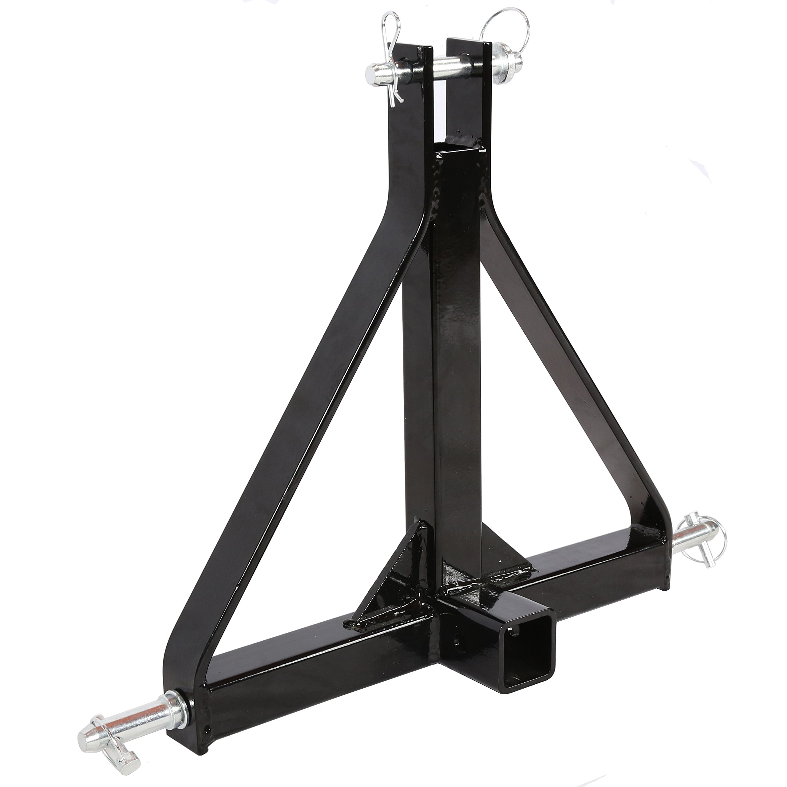 3 Point 2'' Receiver Trailer Hitch Category 1 Tractor Tow Hitch Drawbar Adapter by EGOBIKE
